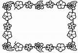 Clipart Lei Hawaiian Clip Coloring Luau Border Flower Borders Theme Flowers Boarder Cliparts Birthday Library Line Hagio Clipartbest Graphic Clipartpanda sketch template