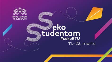 Vidusskolēni aicināti iepazīt RTU studentu ikdienu | Rīgas ...