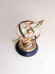 Sundial  Brass Celestial Sphere Armillary