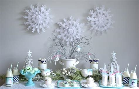 karas party ideas winter wonderland holiday party