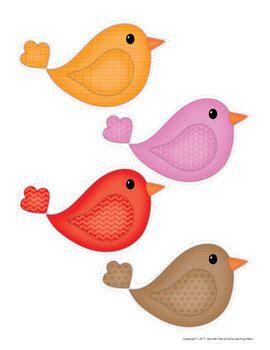 bird color sorting  math activities  preschool