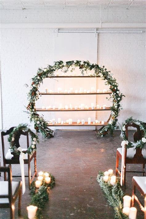 top  wreath circle wedding arches backdrops roses
