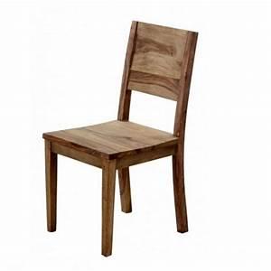 Chaise En Bois : chaise en bois id es de d coration int rieure french decor ~ Melissatoandfro.com Idées de Décoration