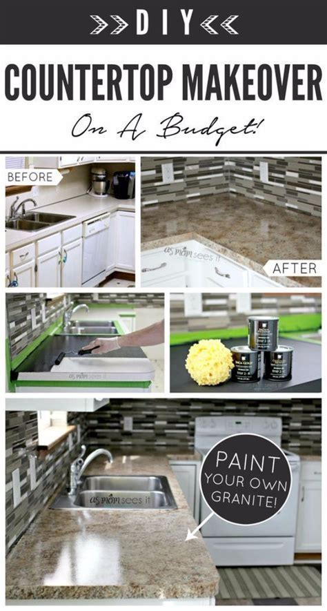 cheap easy kitchen makeovers diy kitchen makeover ideas kitchen remodel with granite 5252