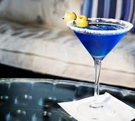 signature cocktail recipes godolphin 39 s royal blue martini