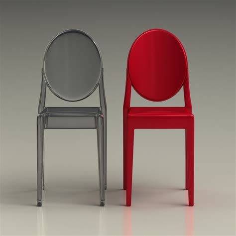 chaise starck kartell 3d ghost chair phillipe starck high quality