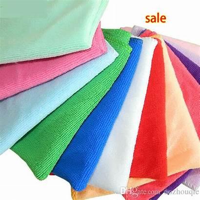 Towel Wash Wholesale Colorful Towels 30cm Microfiber