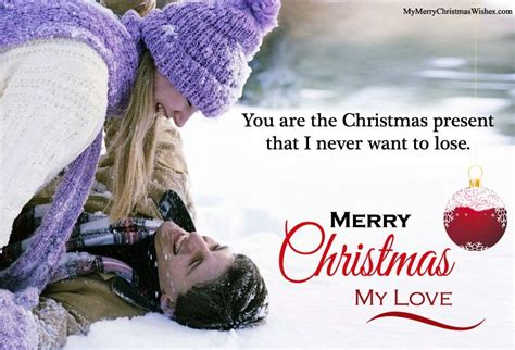 romantic merry christmas wishes quotes  love