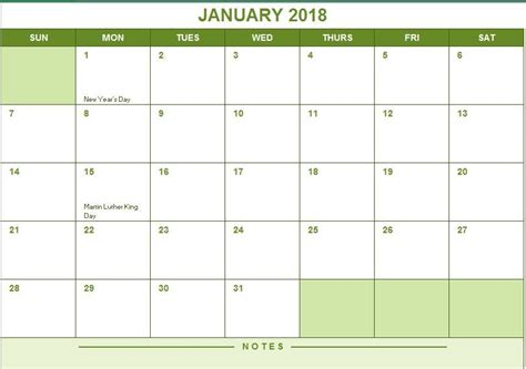 2017 Calendar Template Excel 2017 Year Calendar Excel Templates For Every Purpose