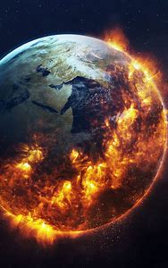 Apocalyptic Earth Art