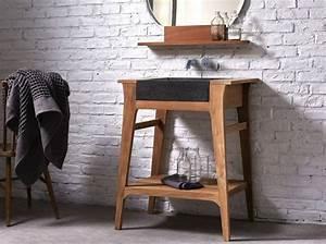 Meuble Pour Petite Salle De Bain : petite salle de bains les meubles qu 39 il vous faut elle d coration ~ Melissatoandfro.com Idées de Décoration