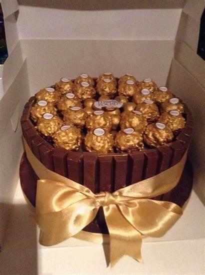 Rocher Cake Fererro Chocolate Birthday Cakes Candy