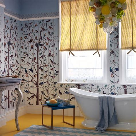 bathroom wallpaper ideas uk traditional bathroom pictures house to home