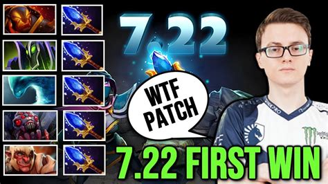 miracle 7 22 patch win with team scepter new patch dota 2 gameplay