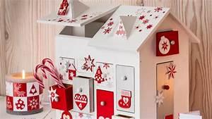 Calendrier De L Avent Maison En Bois : mon calendrier de l 39 avent en forme de maison femme actuelle le mag ~ Melissatoandfro.com Idées de Décoration