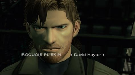 big metal wall my name is iroquois pliskin metal gear solid sons of