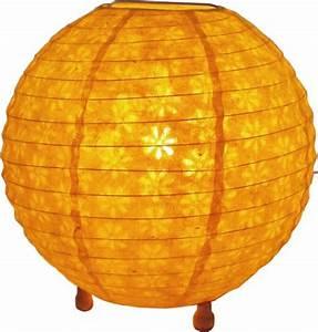 Stehlampe Gelb : corona round reispapier stehlampe 25 cm corona ~ Pilothousefishingboats.com Haus und Dekorationen