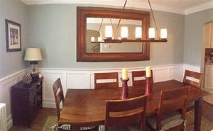 dining rooms with chair rails With dining room color ideas with chair rail