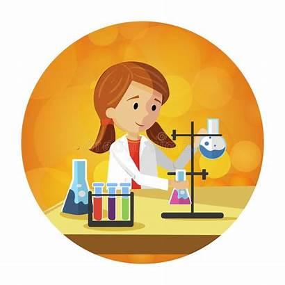 Chemie Chimica Voorbereidingen Studenten Preparing Chemistry Study