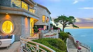 Panoramic View Of Emerald Bay, Laguna Beach HD Wallpaper