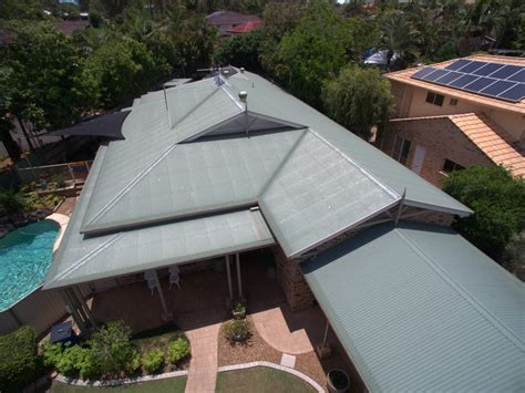 superior place parkinson  roofing project amj metal