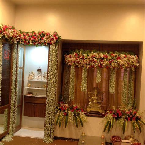 Image result for ferns & petals decoration ganpati