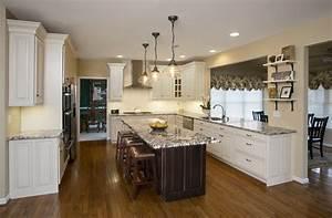 Traditional, White, Kitchen