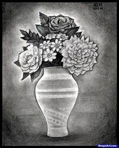 How to Draw Realistic Flowers, Step by Step, Realistic ...
