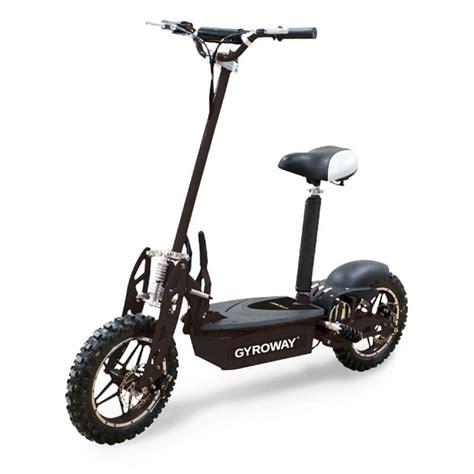 koep el scooter svart gyroway  hos sportgymbutikense