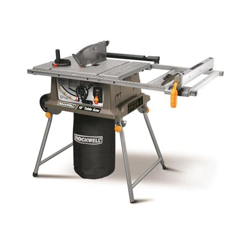 delta table top scroll shop rockwell 15 amp 10 in table saw at lowes com