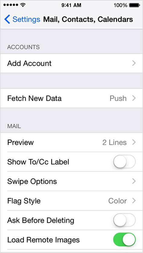 how to setup email on iphone 5 setting up an email account on iphone or knowledge 20321