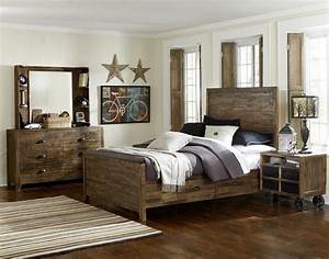 Beautiful distressed bedroom furniture for vintage flair for Distressed bedroom set