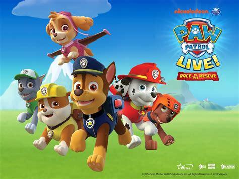paw patrol nickalive paw patrol live race to the rescue announces australian tour