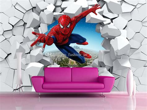 spiderman wallpaper custom  photo wallpaper  walls