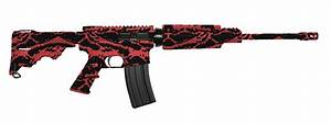 Call of Duty Red Tiger Camouflage Pattern