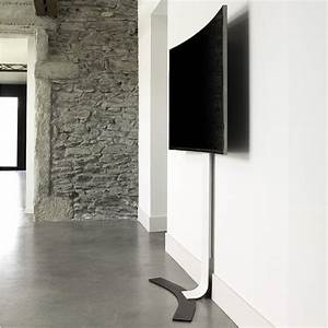 Meuble Tv Accroché Au Mur : erard kit pour crans incurv s support mural tv erard group sur ~ Preciouscoupons.com Idées de Décoration