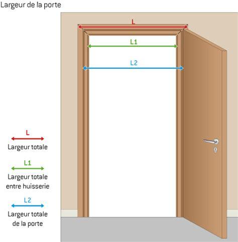 dimension cadre de porte standard r 233 novation portes int 233 rieures infos et conseils