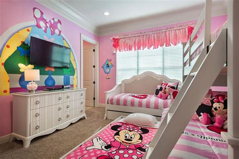 shared minnie mouse bedroom  girls  images