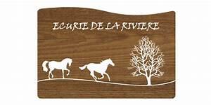 Plaque De Maison Originale : plaque de maison originale en bois avie home ~ Teatrodelosmanantiales.com Idées de Décoration