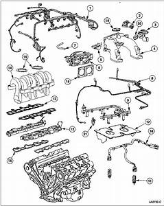 1997 - 1998 Lincoln Mark Viii Engine Components Diagram