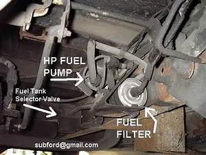 Fuel Tank  Pump  Or Selector Switch Problem