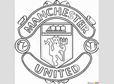 Manchester United Badge Drawing
