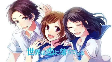 honeyworks quot the world is falling seikai wa koi ni