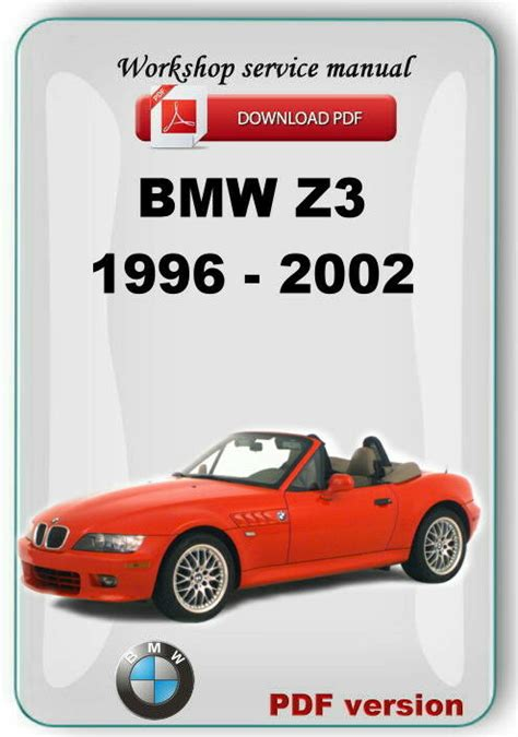 free online car repair manuals download 2003 bmw z4 spare parts catalogs bmw z3 1996 2002 complete factory service repair manual ebay