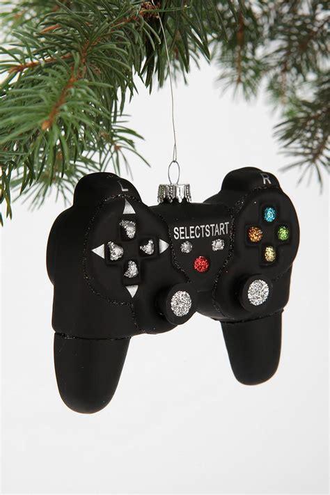 Video Game Controller Ornament Black Christmas Urban