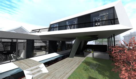 Is House, A Futuristic Modern Concept Designed By Steep