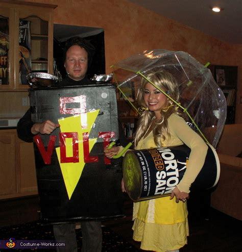 salt  battery halloween costume