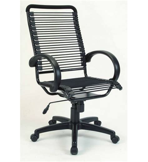 bungee high back office chair with lift up mechanism prime