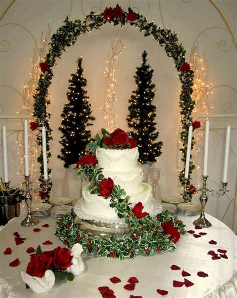 Elegant Christmas Wedding Theme Ideas Oosile