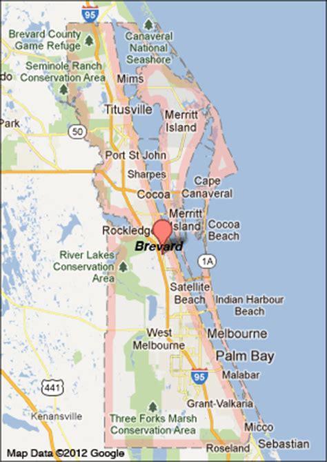brevard county florida map